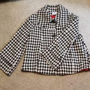 Worthington Wool Jacket Herringbone Large